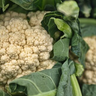 white cauliflowers