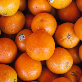 orange fruits on display