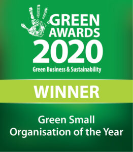 "Ancient Organics is the winner of the Green Awards 2020 ""Green Small Organisation of the Year"" award!"